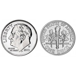 US 10 cent 2015 D
