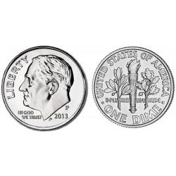 US 10 cent 2015 P