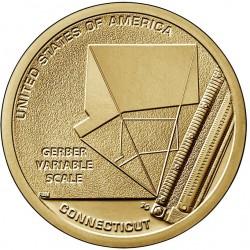US American Innovative Dollar 2020 - 6 Connecticut D
