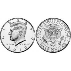 US Kennedy Half Dollar 2010 - D