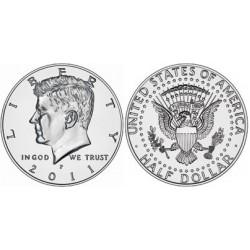 US Kennedy Half Dollar 2011 - D