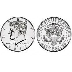 US Kennedy Half Dollar 2012 - D