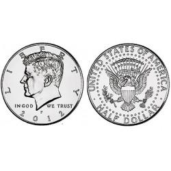 US Kennedy Half Dollar 2012 - P