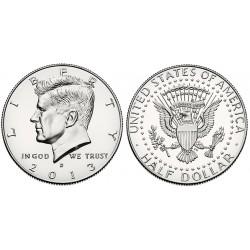 US Kennedy Half Dollar 2013 - D