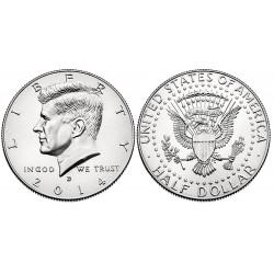 US Kennedy Half Dollar 2014 - D