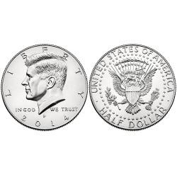 US Kennedy Half Dollar 2014 - P