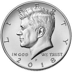 US Kennedy Half Dollar 2018 - P
