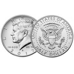 US Kennedy Half Dollar 2017 - D