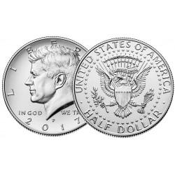 US Kennedy Half Dollar 2017 - P