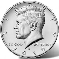 US Kennedy Half Dollar 2020 - D