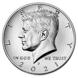 US Kennedy Half Dollar 2021 - P