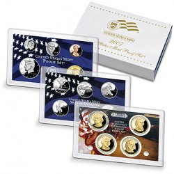 United States Mint Proof coinset 2007 S