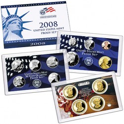 United States Mint Proof coinset 2008 S