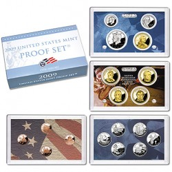 United States Mint Proof coinset 2009 S