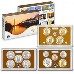 United States Mint Proof coinset 2013 S