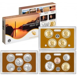 United States Mint Proof coinset 2014 S