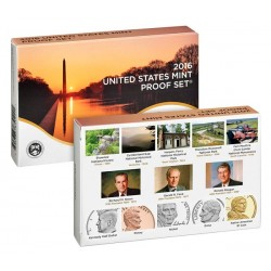 US USA - United States Mint Proof coinset 2016