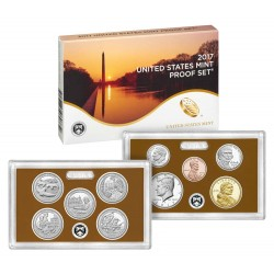 US USA - United States Mint Proof coinset 2017