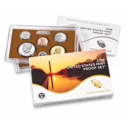 US USA - United States Mint Proof coinset 2018