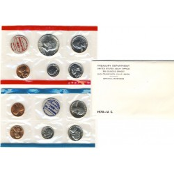 United States Mint UNC coinset 1970 P, D and S