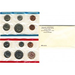 United States Mint UNC coinset 1971 P, D and S