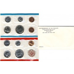 United States Mint UNC coinset 1972 P, D and S