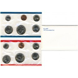 United States Mint UNC coinset 1979 P and D
