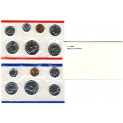 United States Mint UNC coinset 1981 P, D and S