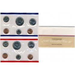 United States Mint UNC coinset 1986 P and D