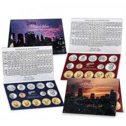 United States Mint UNC coinset 2008 P and D