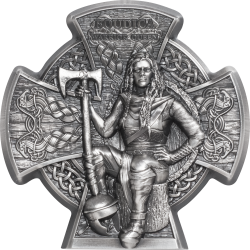 2020 BOUDICA Warrior Queen - Isle of Man 5 pounds 3 oz silver coin