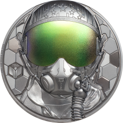 Cook Islands 20 dollars 2020 FIGHTER PILOT Real Heroes - 3 oz silver coin