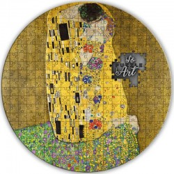 2020 THE KISS Gustav Klimt So Puzzle Art - Cameroon 3000 francs 2020 3 oz silver coin