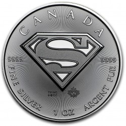 Canada 5 dollar 2016 Superman - 1 Oz. silver - BU