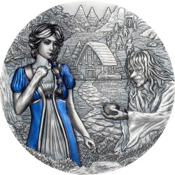 Cook Islands 20 dollars 2020 Fairy Tales SNOW WHITE - 3 oz silver coin