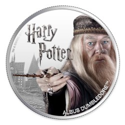 2020 Harry Potter - 4) ALBUS DUMBLEDORE - Fiji 1 dollar 1oz silver coin