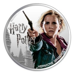 2020 Harry Potter - 3) HERMIONE GRANGER - Fiji 1 dollar 1oz silver coin