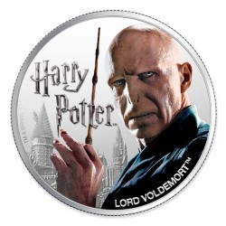2020 Harry Potter - 5) LORD VOLDEMORT - Fiji 1 dollar 1oz silver coin