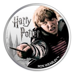 2020 Harry Potter - 2) RON WEASLEY - Fiji 1 dollar 1oz silver coin