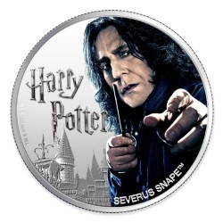 2020 Harry Potter - 6) SEVERUS SNAPE - Fiji 1 dollar 1oz silver coin