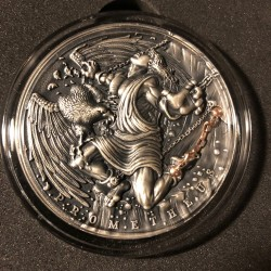 Niue 5 dollars 2019 - PROMETHEUS Ancient Myths - 2 oz silver coin