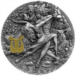 Niue 2 dollars 2020 - APOLLO Gods series - 2 oz silver coin