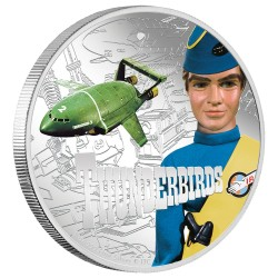 2015 Thunderbirds 2 VIRGIL TRACY - Niue 2 dollars 1 oz silver coin