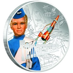 2015 Thunderbirds 3 ALAN TRACY - Niue 2 dollars 1 oz silver coin