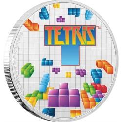 2019 TETRIS Arcade Games - Niue 2 dollars 1oz silver coin
