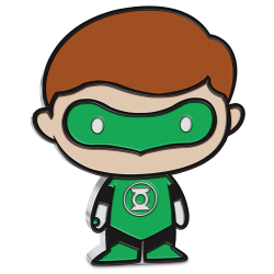 2020 Chibi Coin Collection - DC Comics GREEN LANTERN™ - Niue 2 dollars 1 oz silver coin