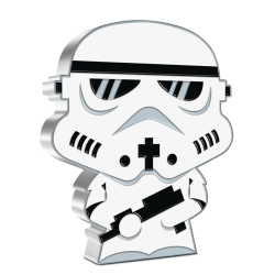 2020 Chibi Coin Collection - Star Wars 4 STORMTROOPER™ - Niue 2 dollars 1 oz silver coin