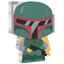 2020 Chibi Coin Collection - Star Wars 5 BOBA FETT™ - Niue 2 dollars 1 oz silver coin
