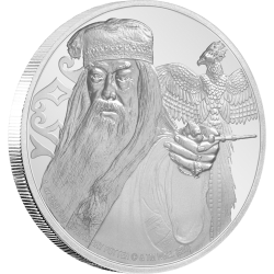 2020 Harry Potter ALBUS DUMBLEDORE - Niue 2 dollars 1 oz silver coin