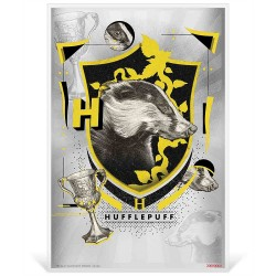 2020 Harry Potter Hogwarts House Banners HUFFLEPUFF - Niue 1 dollar 5g silver coin note